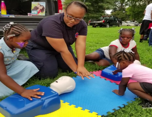 RAA Celebrates 'National Night Out' by Teaching Hands-Only CPR