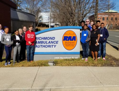 Lucille Brown Middle School students visit RAA