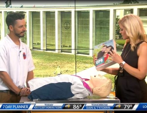 RAA Promotes Hands Only CPR on 8News