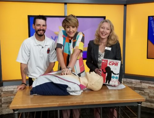Virginia This Morning Highlights efforts to teach Hands Only CPR