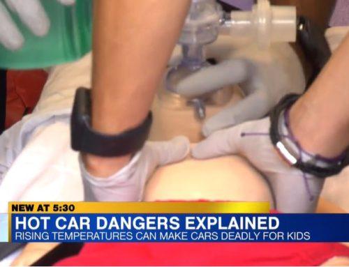 RAA, AAA host hot car re-enactment to combat child heatstroke