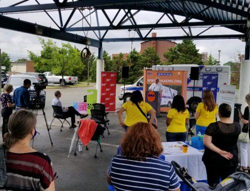 RAA, AAA Mid-Atlantic, and Partners Hold Hot Car Demonstration