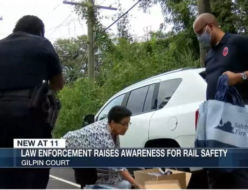 RAA Joins Public Safety Partners for important National Rail Safety Week Message